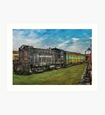 Train - Baldwin Locomotive Works Art Print