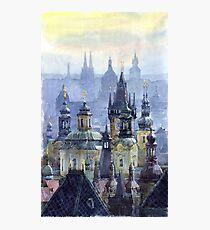 Prague Towers Photographic Print