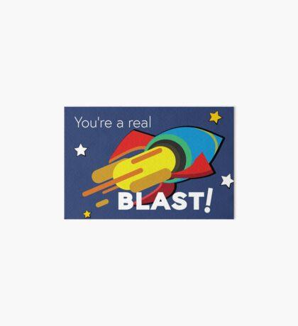You're a Real BLAST! Rocket power Art Board
