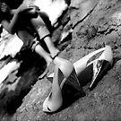 hiking in heels by HeatherMScholl