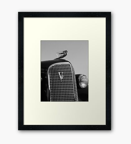 1937 Cadilac V12 Framed Print