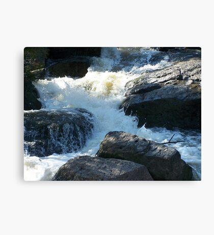 The Rocky Creek Glacier - Narrabri Canvas Print