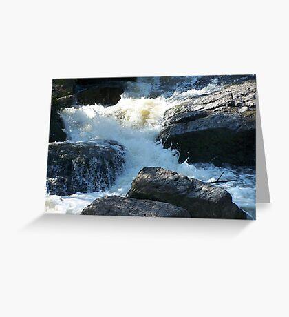 The Rocky Creek Glacier - Narrabri Greeting Card