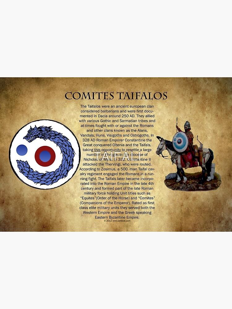 Comites Taifalos - Heraldic Banner by TAIFALI