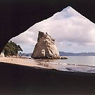 Cathedral Cove, Hahei, New Zealand by Adrian Paul