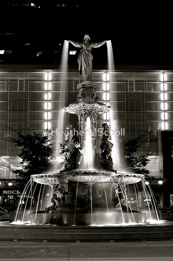 Quot Fountain Square Cincinnati Quot By Heathermscholl Redbubble