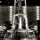 Fountain Square, Cincinnati by HeatherMScholl