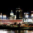 Cincinnati ballpark by HeatherMScholl
