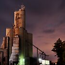 Ada, Oh, Grain Elevators by HeatherMScholl