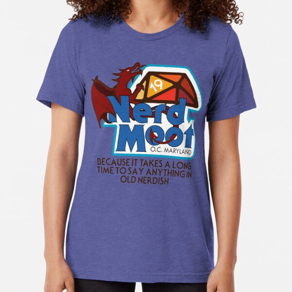 Moot With Quote T-shirt chiné