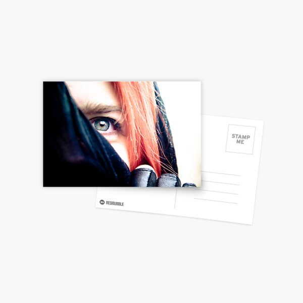 Veiled Postcard