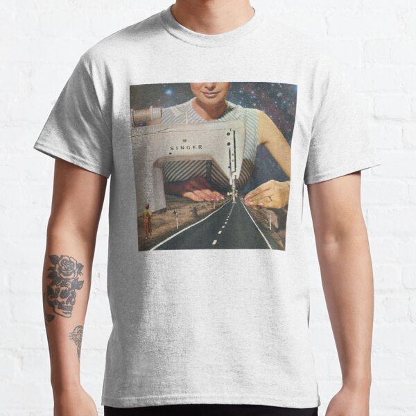This is how a road gets made - Sewing Machine Classic T-Shirt