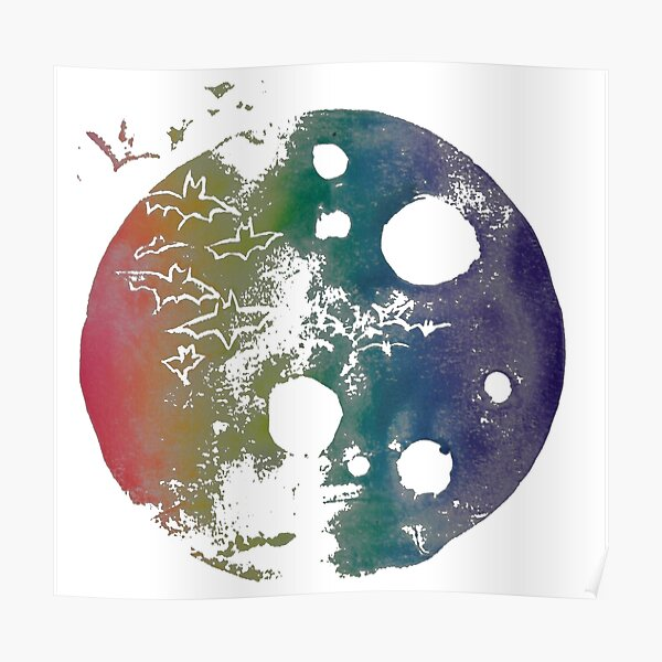 Devil Moon - Rainbow  Poster