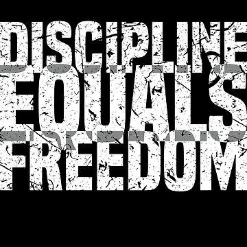 'Discipline Freedom' Amazing Equality Rights Gift by leyogi