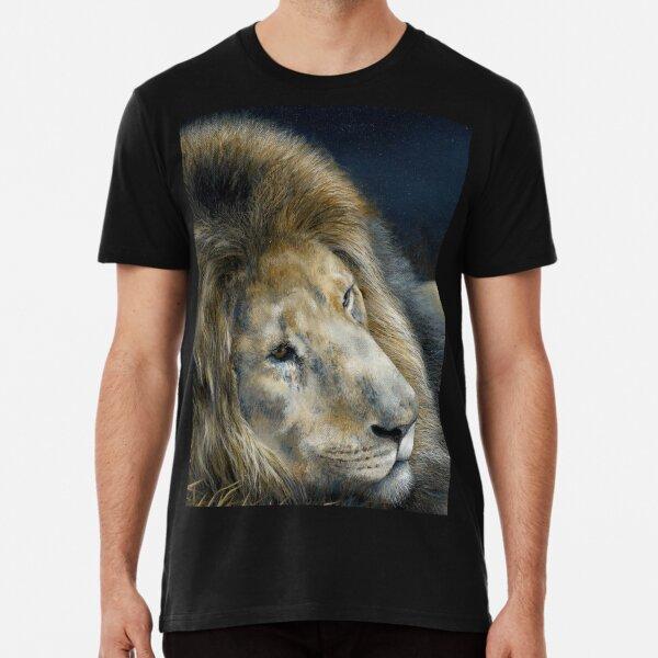 'Africa Dozing – Lion' Premium T-Shirt