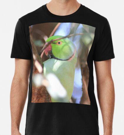 Blue-eyed Boy in my garden Premium T-Shirt
