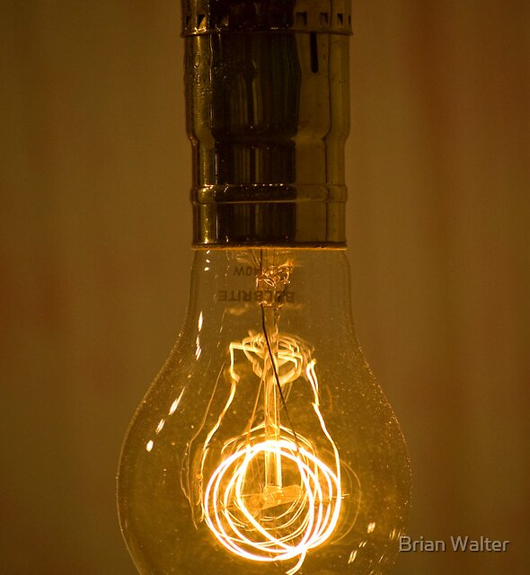 Light Bulb by Brian Walter