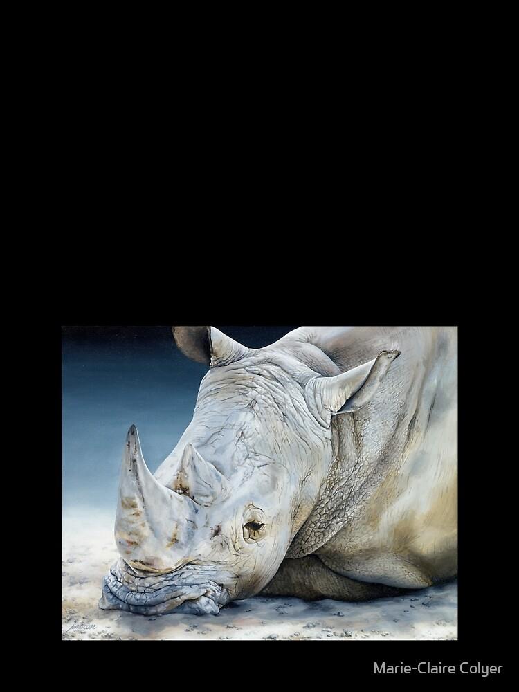 'Africa Dozing – White Rhino' by MCColyer