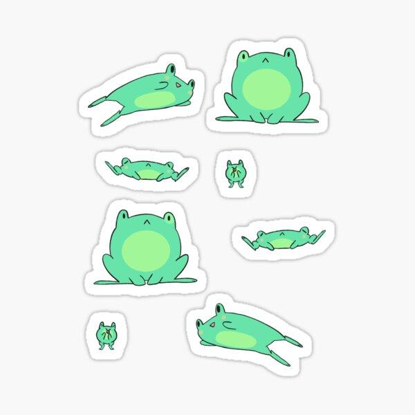 Frog Sticker Sheet Sticker