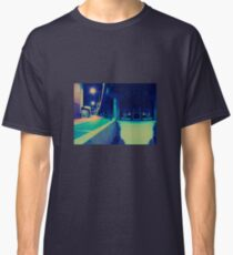 Urban Night Scene Classic T-Shirt