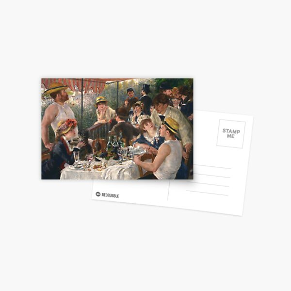 Luncheon of the Boating Party (Renoir) Postcard