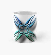 #illustration, #symbol, #nature, #design, #shape, decoration, flower, animal, art Mug