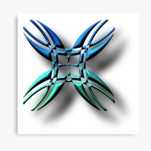 #illustration, #symbol, #nature, #design, #shape, decoration, flower, animal, art Canvas Print