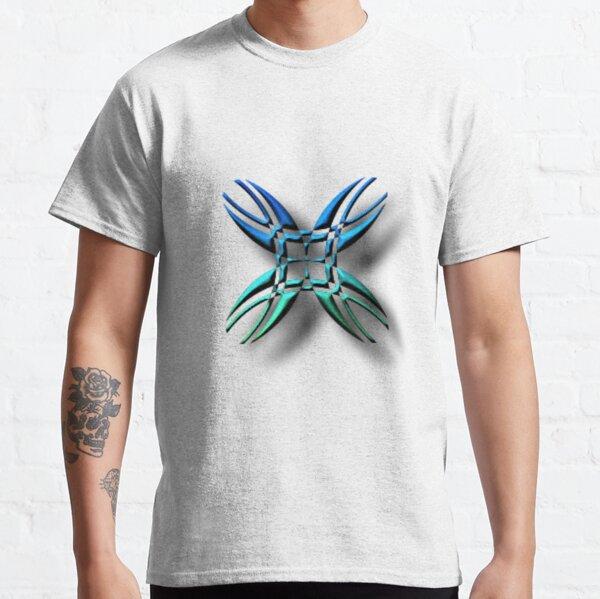 #illustration, #symbol, #nature, #design, #shape, decoration, flower, animal, art Classic T-Shirt