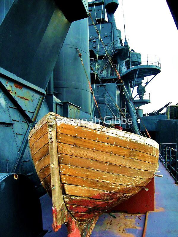 Battleship TEXAS  Lifeboat by Savannah Gibbs