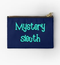 Mystery Sleuth by Chillee Wilson Studio Pouch
