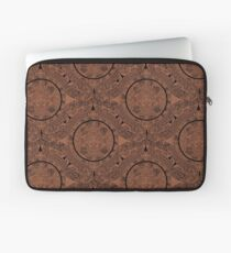 Aztec Calendar by Chillee Wilson Laptop Sleeve