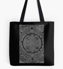 Aztec Calendar by Chillee Wilson Tote Bag