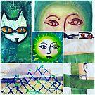 Green Barcelona design by donna malone