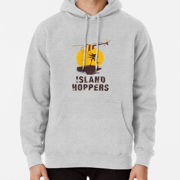 Island Hoppers - Magnum pi Pullover Hoodie