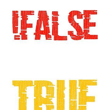 False True Code Programmer Tshirt Gift by mjacobp