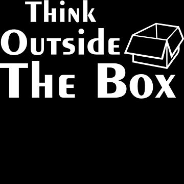 Think outside the box - entrepreneur by alexmichel