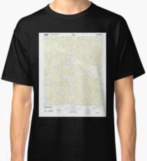 USGS TOPO Map Louisiana LA De Loutre 20120413 TM Classic T-Shirt
