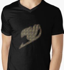 Fairy Tail Leopard Mens V-Neck T-Shirt
