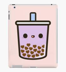 Netter Liebes-Herz-Blasen-Tee iPad-Hülle & Skin