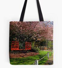 Sidewalk Scenery Tote Bag