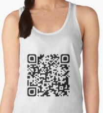 Custom QR code Women's Tank Top