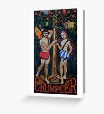 Adam & Eve Greeting Card