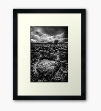 That Rock is in my Way...Wait Framed Print