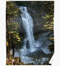 Icy Salt Creek Falls Poster