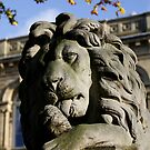 Saltaire Village Lion by Lorne  Campbell