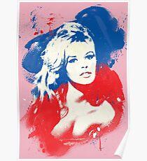 B. B. - Pop Art Fashion Icons Poster