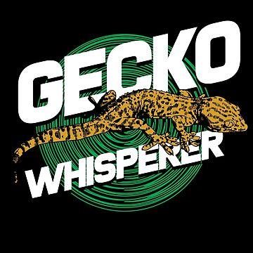 Gecko whisperer by GeschenkIdee