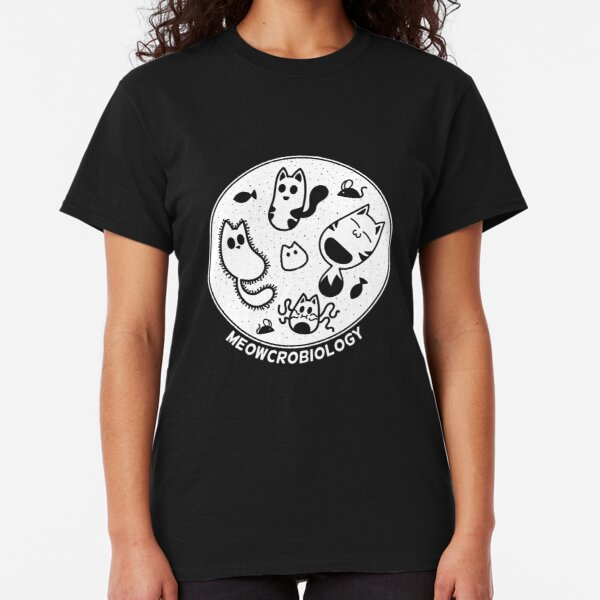 Cats love Microbiology Classic T-Shirt