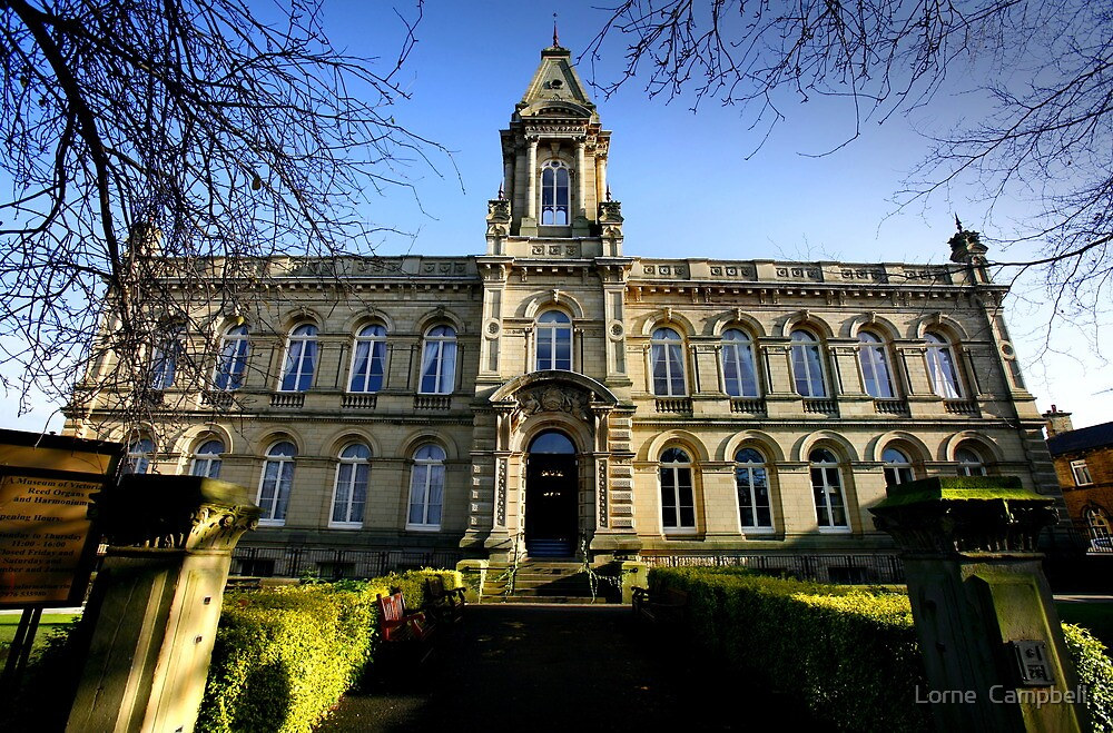 Victoria Hall Saltaire, Yorkshire by Lorne  Campbell