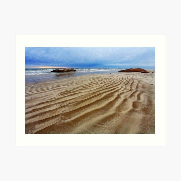 Waves of Sand - 90 Mile Beach, South Australia Art Print
